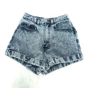 American Apparrel Black Acid Wash Jeans Si…